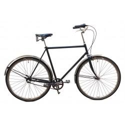 HndbyggetKlassiskCykelmed3ShimanoNexusGearBrooksLdersadelogRustfrieCykelskrme-20