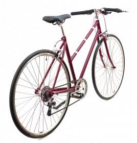 CBS-RACE Håndbygget Racer Cykel med 8 Shimano Gear & Håndbremser
