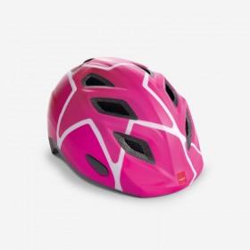 MET Elfo Pink Stjerner Cykelhjelm 46-53 CM