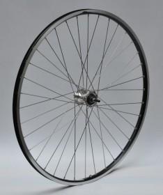 Forhjul med Shimano Rullebremse Fornav og Aluminiumsfælg 700C Sort