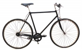 Håndbygget Cykel med Gates Carbondrive Remtræk, 7 Shimano Nexus Gear, Friløb og 2 Håndbremser