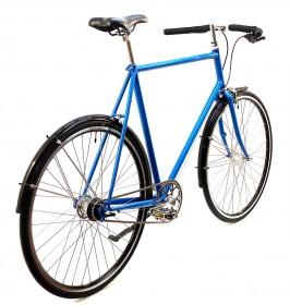 CBS-ROAD Håndbygget Sports Cykel med 7 Shimano Gear, Fodbremse & Skærme