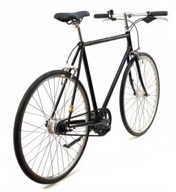 CBS-ROAD Håndbygget Cykel med Gates Remtræk, 7 Shimano Gear & Friløb