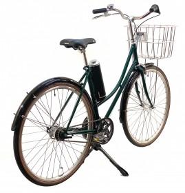 CBS-CLASSIC Håndbygget EL-Cykel med Centermotor, 7 Gear, Skærme & Cykelkurv