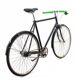 CBS-ROAD Håndbygget Citybike med 7 Shimano Nexus Gear, Fodbremse & Skærme