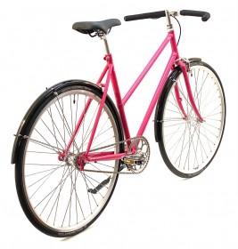 CBS-ROAD Håndbygget Skov Cykel med 1 Gear, Fodbremse & Skærme