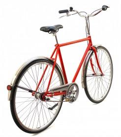 CBS-CLASSIC Håndbygget Cykel med 3 Gear - Kædeskærm & Rustfri Skærme