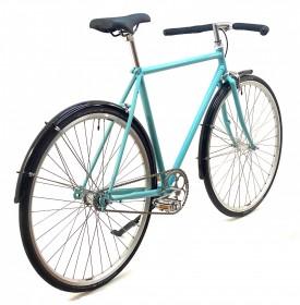CBS-ROAD Håndbygget Street Bike med 1 Gear, Fodbremse & Skærme