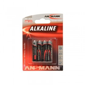 Batterier i 4 stk. Pakke Model AAA LR 03