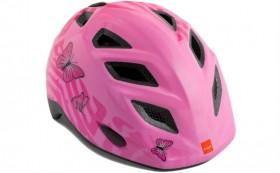 MET Elfo Pink Sommerfugle Cykelhjelm 46-53 CM