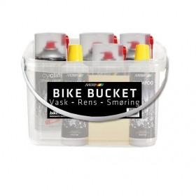 Motip Bike Bucket Cykelpleje Spand 8 Dele- Vask/Rens/Smøring