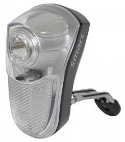 Smart LED Cykel Forlygte 0,5 Watt med Fast Lys eller Blink