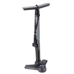 BBB Cykel Fodpumpe med Manometer Sort/Grå BFP-21