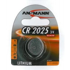 Lithium Batteri til Cykel Computere mm. CR 2025 3 Volt