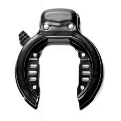 Forsikrings Godkendt Ring Lås med Bolte til Fast Montering på Cykel Bagagebærer